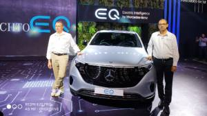 Mercedes-Benz launches EQ electric mobility brand in India, EQC EV SUV showcased