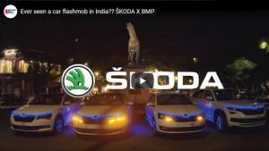 SKODA AUTO along with Bollywood Music Project give India its first Car Flash Mob!