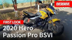 2020 Hero Passion Pro BSVI launched - Price, Specifications and features