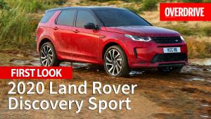 2020 Land Rover Discovery Sport launched in India - Price, Specifications and Features