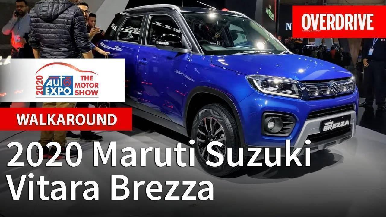 2020 Maruti Suzuki Vitara Brezza 1.5 petrol - Auto Expo 2020