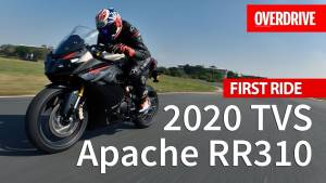 2020 TVS Apache RR310 - First Ride Review