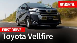 2020 Toyota Vellfire - First drive review