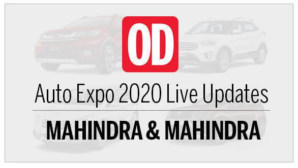 AutoExpo 2020 live updates Mahindra and Mahindra