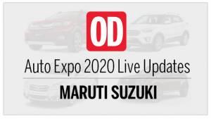 Auto Expo 2020: Maruti Suzuki Live Updates