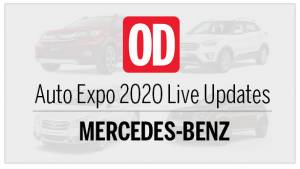Auto Expo 2020: Mercedes-Benz Live Updates