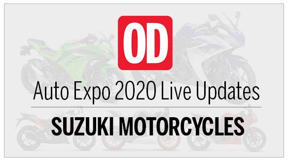 AutoExpo 2020 live updates Suzuki-Motorcycles