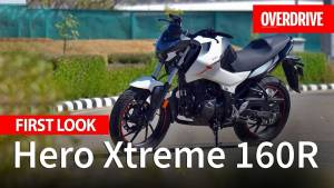 Hero Xtreme 160R first look - specifications, features and price