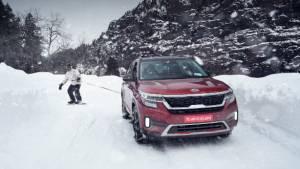 Snow patrol: Putting the Kia Seltos' Snow mode to the ultimate test