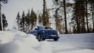 Mercedez-Benz EQA teased before 2020 Geneva Motor Show