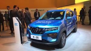 Auto Expo 2020: Renault Kwid electric showcased - based on K-ZE with 350km range
