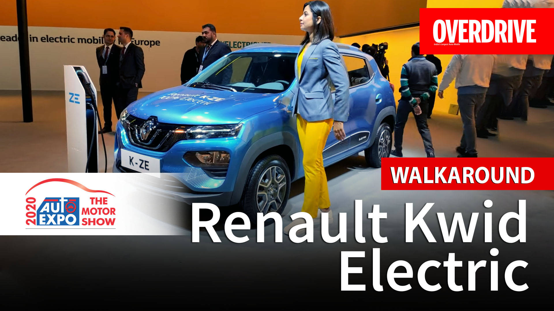 Renault Kwid Electric - Auto Expo 2020