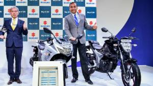 Auto Expo 2020: Suzuki Burgman Street and MotoGP Gixxer 250 concept colour models showcased