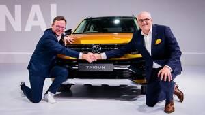 Auto Expo 2020: Volkswagen Taigun Showcased