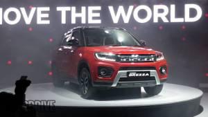 Auto Expo 2020: Maruti Suzuki Vitara Brezza facelift unveiled in India