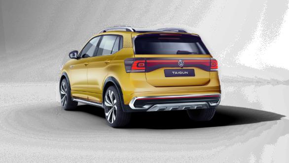 Volkswagen Taigun Concept SUV OVERDRIVE