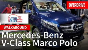 Mercedes-Benz V-Class Marco Polo - Auto Expo 2020