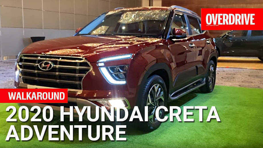 2020 Hyundai Creta Adventure review - Walkaround