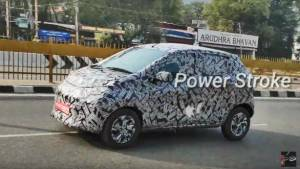 Upcoming Datsun Redi-go hatchback spied testing