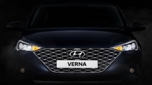 2020 Hyundai Verna facelift teased ahead of debut, engine options revealed