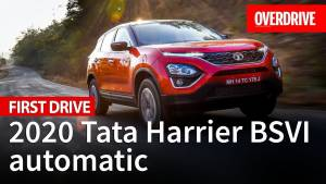 2020 Tata Harrier BSVI automatic review