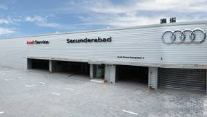 Audi inaugurates state-of-the-art service facility in Secunderabad