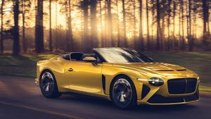 Bentley unveils the Bacalar, a limited-run two-seater luxury GT