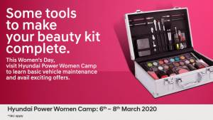 Women's Day 2020: Hyundai announces Power Women Camp till March 8