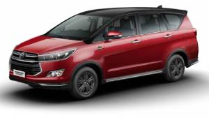 Toyota launches leadership edition of the Innova Crysta at Rs 21.21 lakh