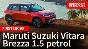 Maruti-Suzuki Vitara Brezza 1.5 Petrol - First Drive Review