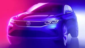 Volkswagen Tiguan facelift SUV teased ahead of global launch