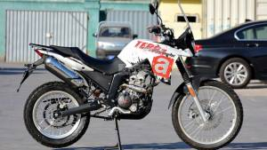 Aprilia Terra 250 ADV motorcycle spied, could rival Hero Xpulse 200, Royal Enfield Himalayan and KTM 250 Adventure
