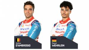 Jerome D'Ambrosio and Pascal Wehrlein to represent Mahindra Racing at ABB Formula E Race at Home Challenge