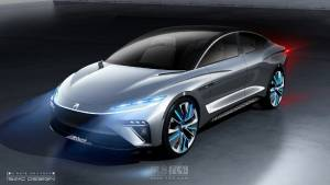 SAIC previews Roewe R-Aura Concept EV flagship in sketches