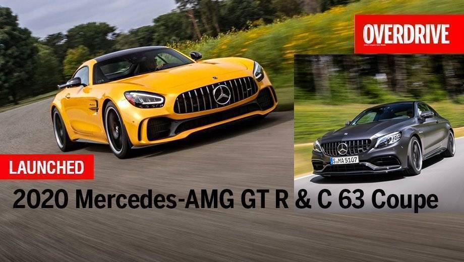 2020 Mercedes-AMG GT R & C 63 Coupe Launched In India