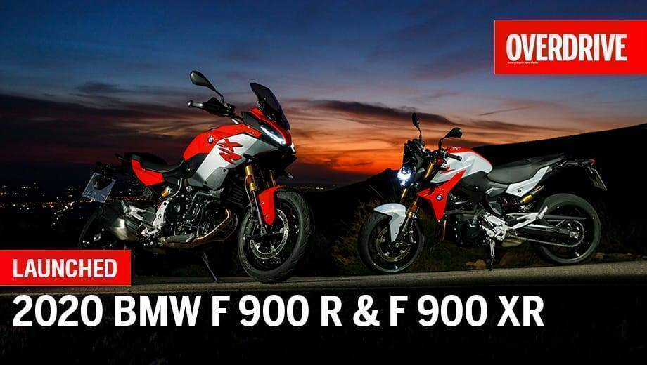 BMW F 900 R & F 900 XR launched in India