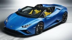 Lamborghini reveals Huracan Evo RWD Spyder drop-top