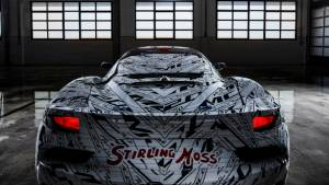 Maserati MC20 prototype livery pays homage to Sir Stirling Moss