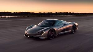 More details on the McLaren Speedtail hypercar's hybrid powertrain