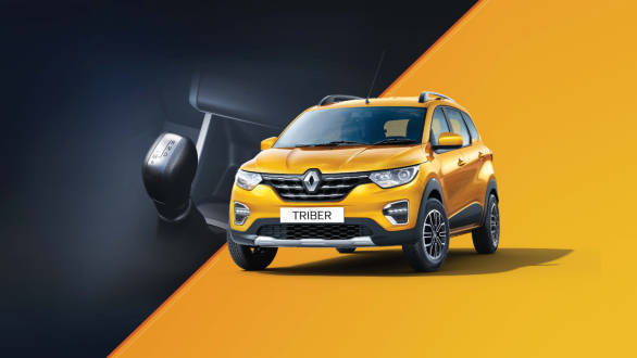 Renault Triber AMT bookings open in India, prices start from Rs ...
