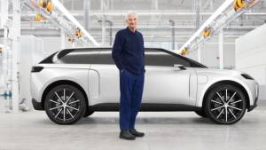 Cancelled Dyson electric car seen for the first time