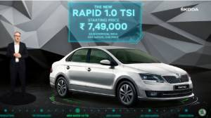 2020 Skoda Rapid TSI BSVI launched in India, priced from Rs 7.49 lakh