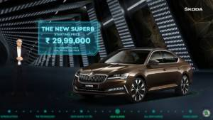 2020 Skoda Superb facelift launched in India at Rs 29.99 lakh