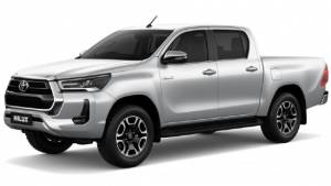 Updated Toyota Hilux pick-up truck revealed