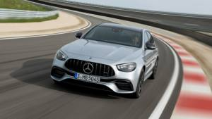 Mercedes-AMG E 63 goes under the knife
