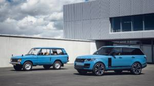 50 Years of Range Rover: 1,970-unit Range Rover Fifty special edition showcased