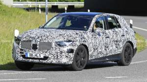 Next-generation Mercedes-Benz GLC SUV spotted testing