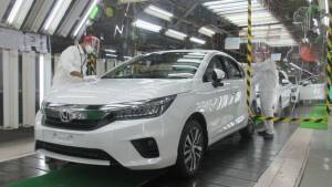 Honda Cars India start production of the new generation Honda City