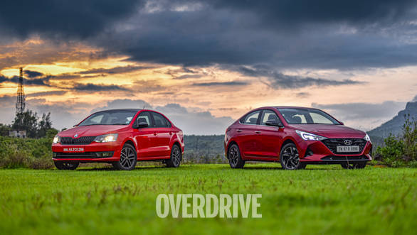 Comparison test: Hyundai Verna vs Skoda Rapid 1-litre turbo petrol review