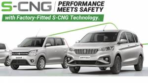 Maruti Suzuki has sold more than 1 lakh CNG vehicles in FY 2019-20